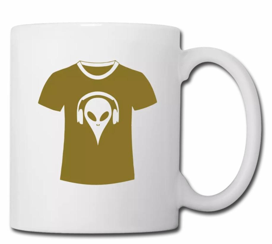Alien Kaffee Tasse