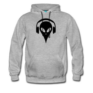 dj-alien-maenner-premium-hoodie