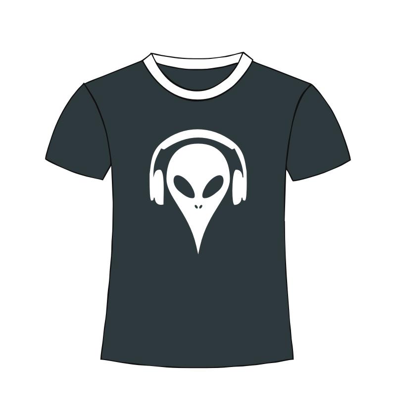 Alien Shirt black