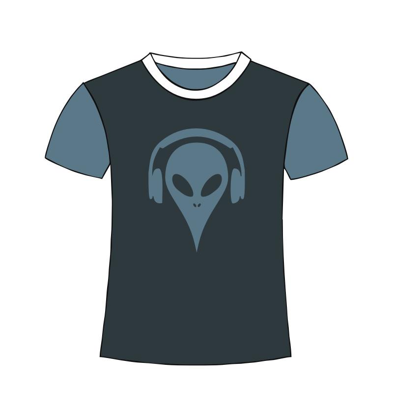 Alien T-Shirt color