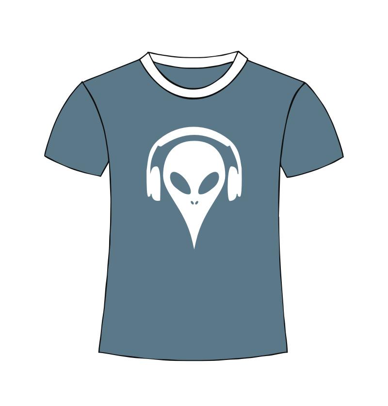 Alien Shirt grey