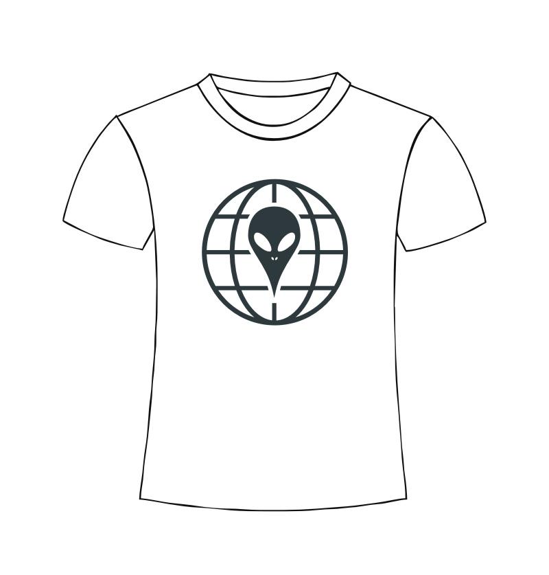 Alien T-Shirt - Earth