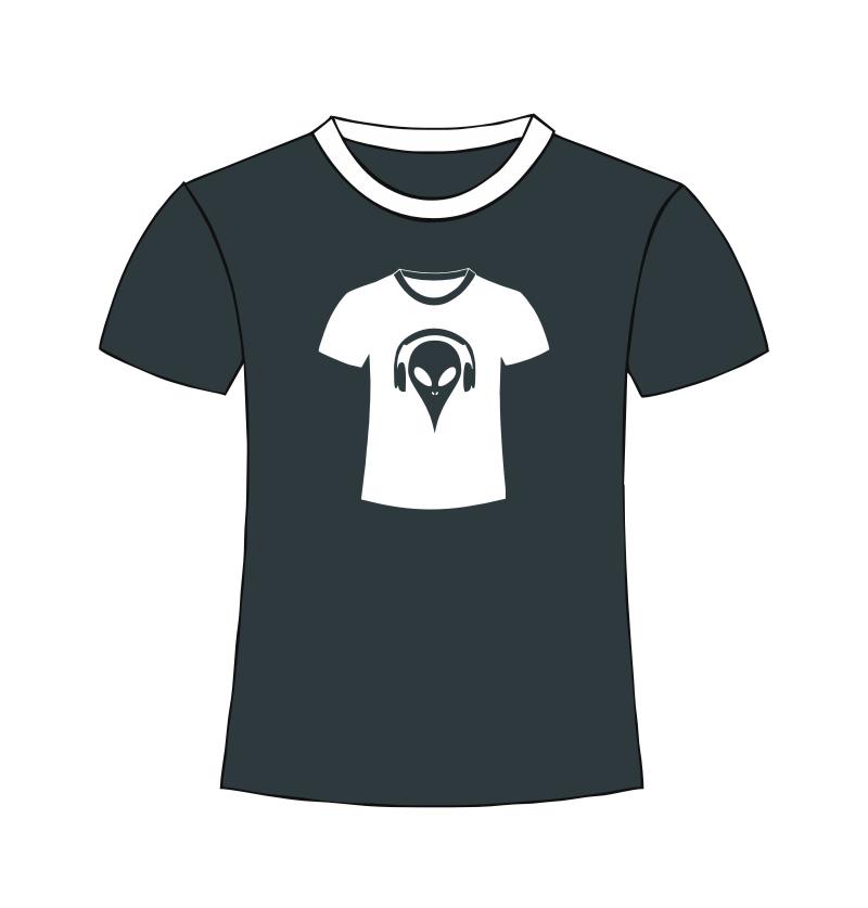 Alien T-Shirt - black shirt