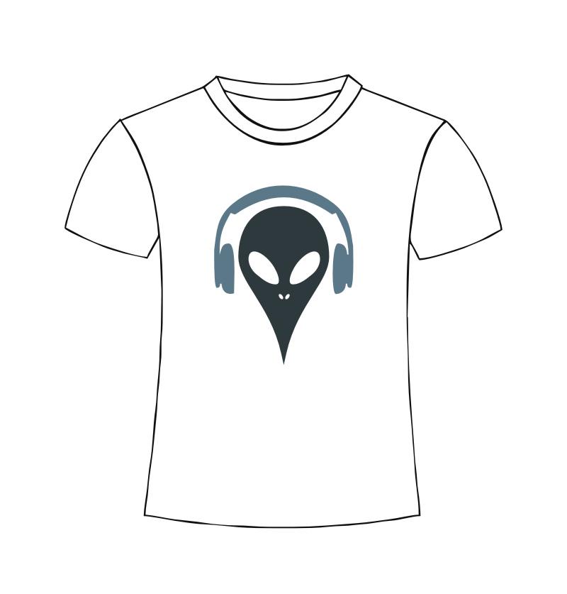 Alien Shirt color